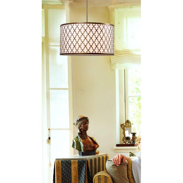 Azalea  3-Light Drum Chandelier by Wildon Home ®