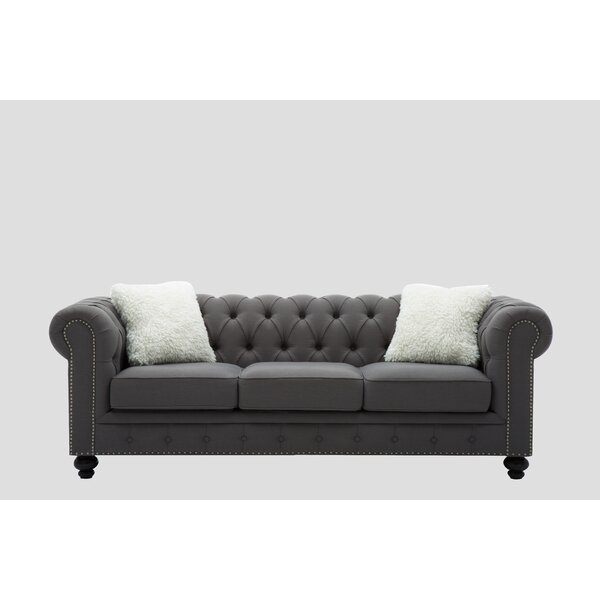 Howes Chesterfield Sofa by Alcott Hill