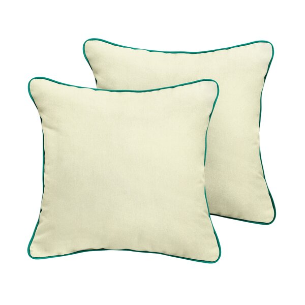 Pecoraro Sunbrella Outdoor Throw Pillow (Set of 2) by Latitude Run