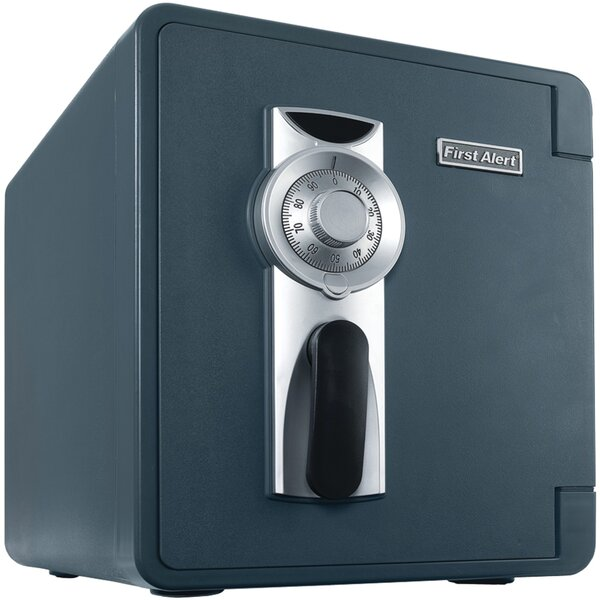 Waterproof Fire Security Safe with Combination Lock by First Alert