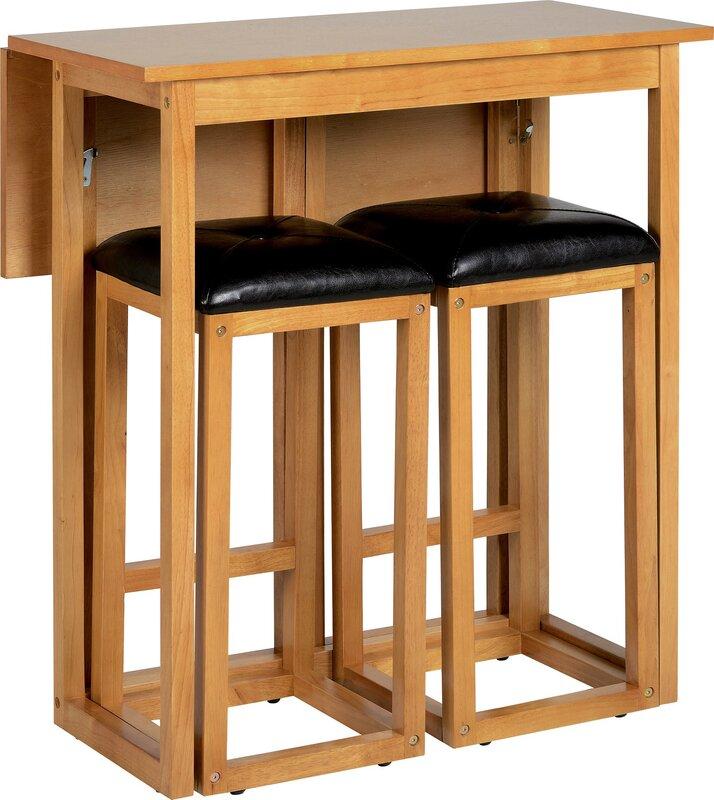 m hlenhaus 3 tlg bartisch set atkinson bewertungen. Black Bedroom Furniture Sets. Home Design Ideas