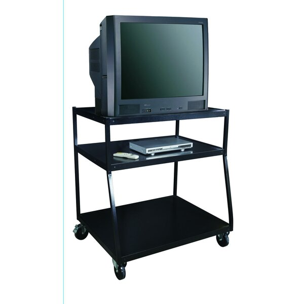 Wide Body TV Monitor AV Cart by Sandusky Cabinets