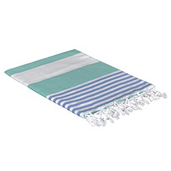 Turkish Cotton Beach Towel by Highland Dunes