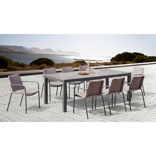 Midway 9 Piece Dining Set by Wrought Studio Wrought Studio