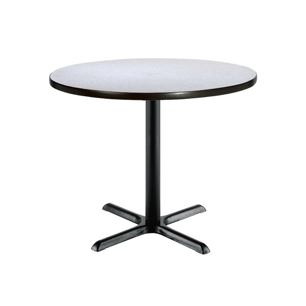 Mode Round Pedestal Table by KFI Seating