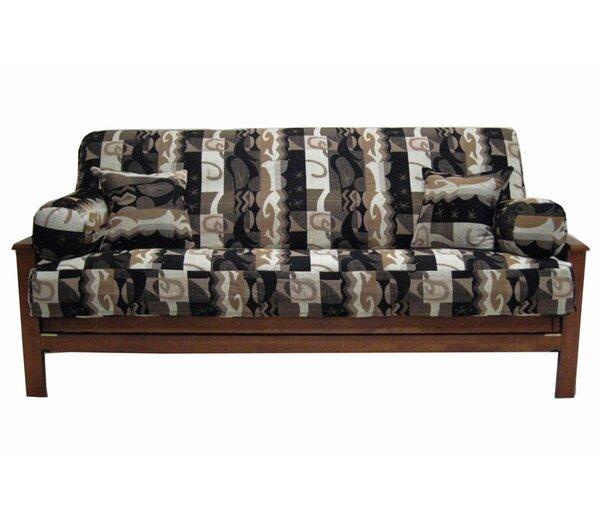 Elysian Fields Box Cushion Futon Slipcover Set by Blazing Needles