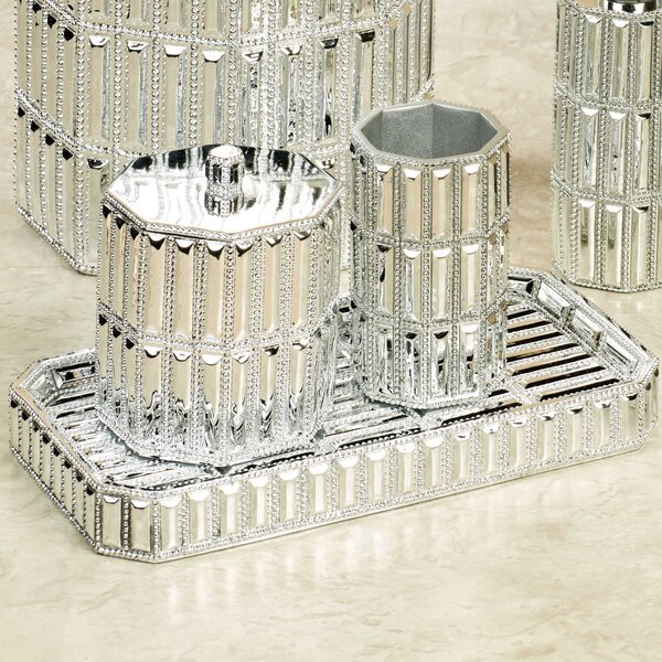 Glitz Amenity Bathroom Accessory Tray by NU Steel