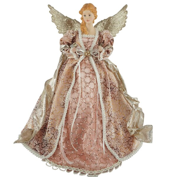 16 Mauve Angel Tree Topper by The Holiday Aisle