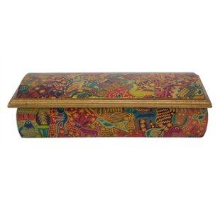 Check Prices Huichol Fiesta Decoupage Jewelry Box ByBloomsbury Market