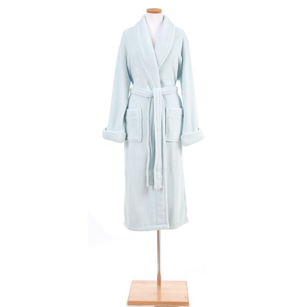 Victoria Sheepy Fleece Bathrobe by Pine Cone Hill
