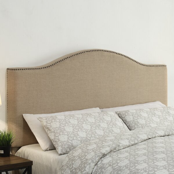 Clapham Upholstered Panel Headboard by Darby Home Co