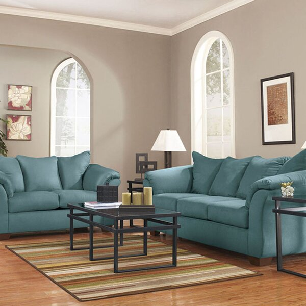 Tom 2 Piece Living Room Set by Red Barrel Studio
