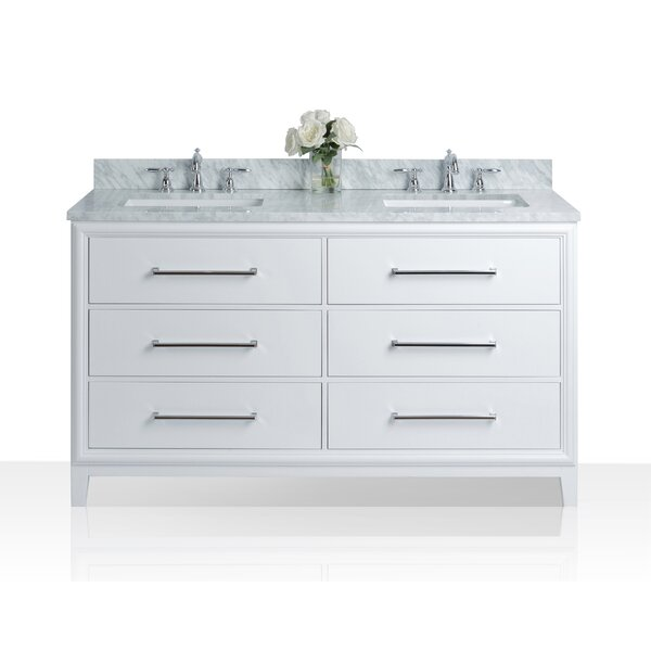 Burnsdale 60 Double Bathroom Vanity by Red Barrel Studio