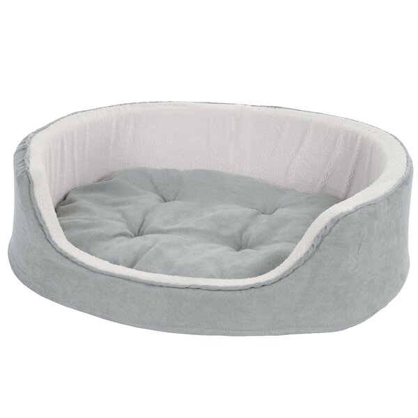 Microsuede Pet Bolster with Zippered Closure by Petmaker