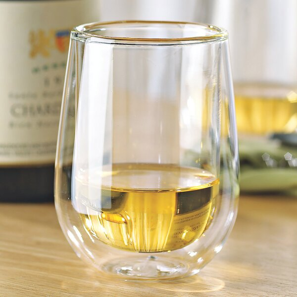 Steady-Temp White Wine Tumbler (Set of 4) by Wine Enthusiast