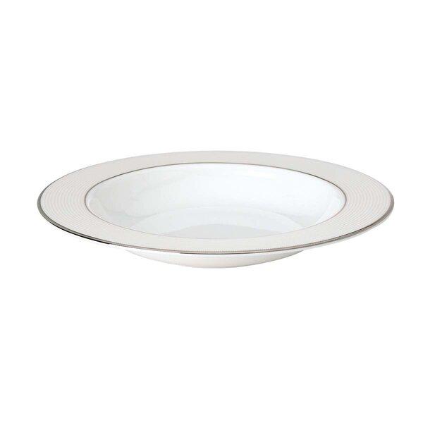 Opal Innocence Stripe Pasta / Rim Soup Bowl by Lenox
