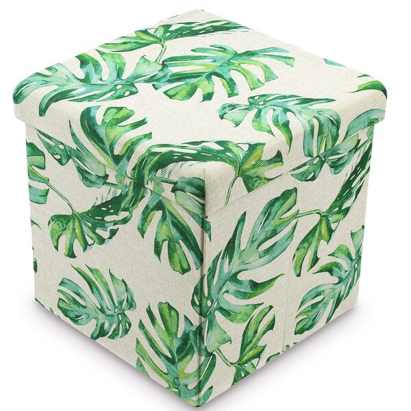 Caulfield Tufted Storage Ottoman by Bay Isle Home