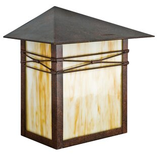 Looking for Mission 1-Light Outdoor Flush Mount By Sunset Lighting