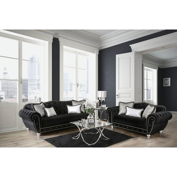 Lowes 2 Piece Living Room Set by Rosdorf Park
