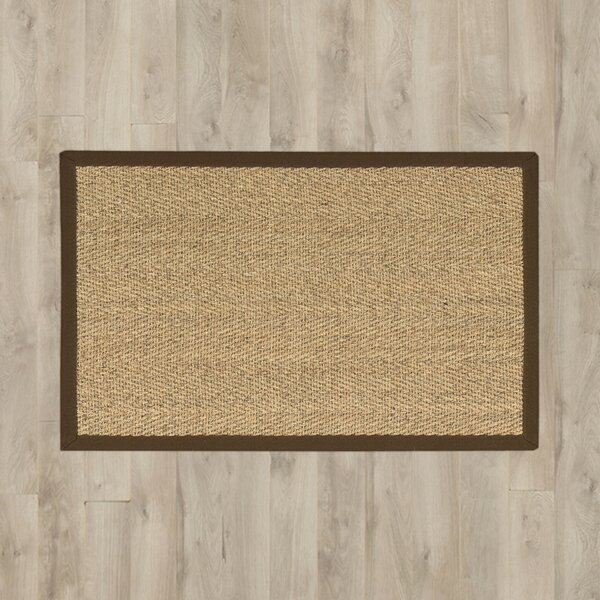 Remington Brown/Beige Area Rug by Charlton Home