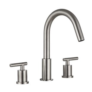 Roman Double Handle Widespread Bathroom Faucet