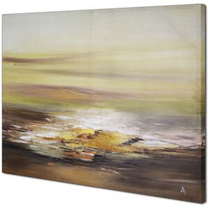 Sunrise Abstract by Sanjay B Patel Painting on Wrapped Canvas by Hobbitholeco.