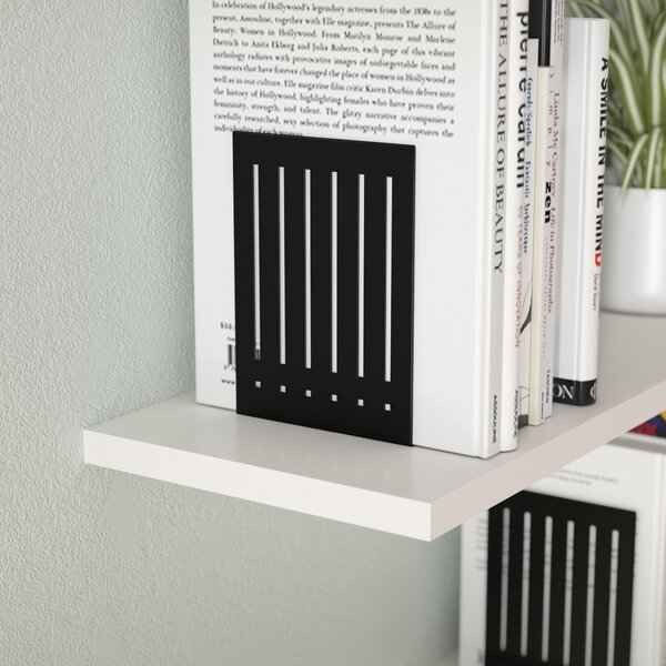Large Rectangle Bookends by Symple Stuff