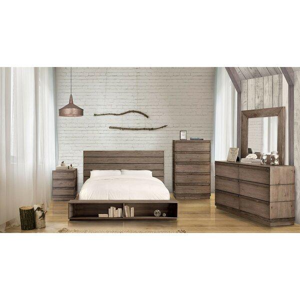 Anthea Bookcase Platform Configurable Bedroom Set by Loon Peak