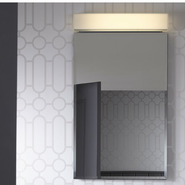 PL Series 30 x 30 Recessed or Surface Mount Frameless Medicine Cabinet with 3 Adjustable Shelves by Robern