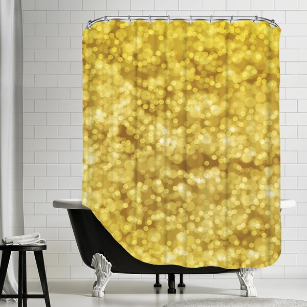 Bokeh Shower Curtain by East Urban Home
