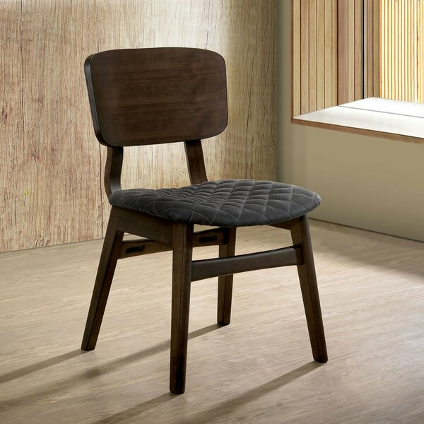 Larry Solid Wood Dining Chair (Set Of 2) By 17 Stories