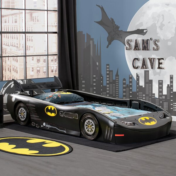 DC Comics Batmobile Batman Twin Car Bed by Delta Children
