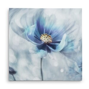 'Feeling of Blue I' Graphic Art Print on Wrapped Canvas by Winston Porter