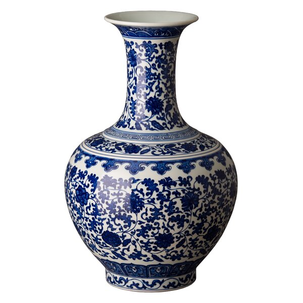 Averill Goblet Floor Vase by Canora Grey
