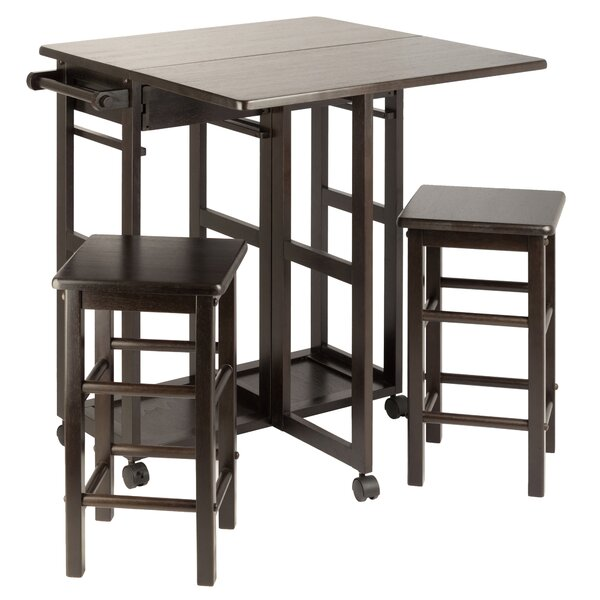 Guyer Kitchen Island Set by Winston Porter