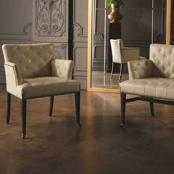 Chester Leather Armchair by Global Views