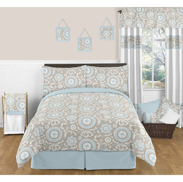 Hayden Cotton Queen Bed Skirt by Sweet Jojo Designs