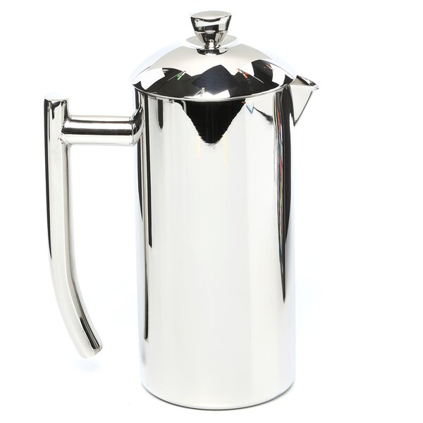 Polished Stainless Steel French Press by Frieling