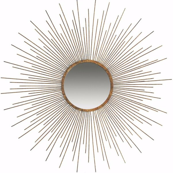 Peiffer Classic Sun Inspired Accent Mirror by Brayden Studio