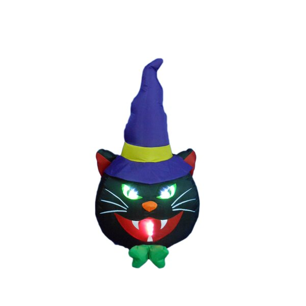 Cat with Hat Decoration by BZB Goods