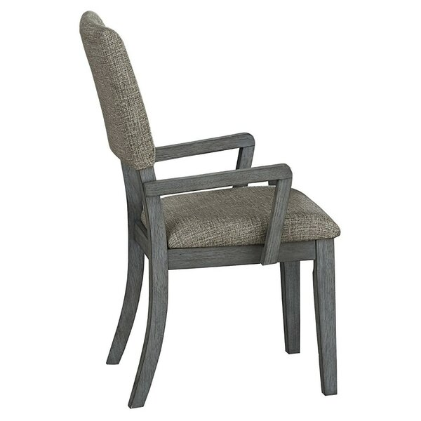 Laura Upholstered Dining Chair (Set of 2) by Millwood Pines