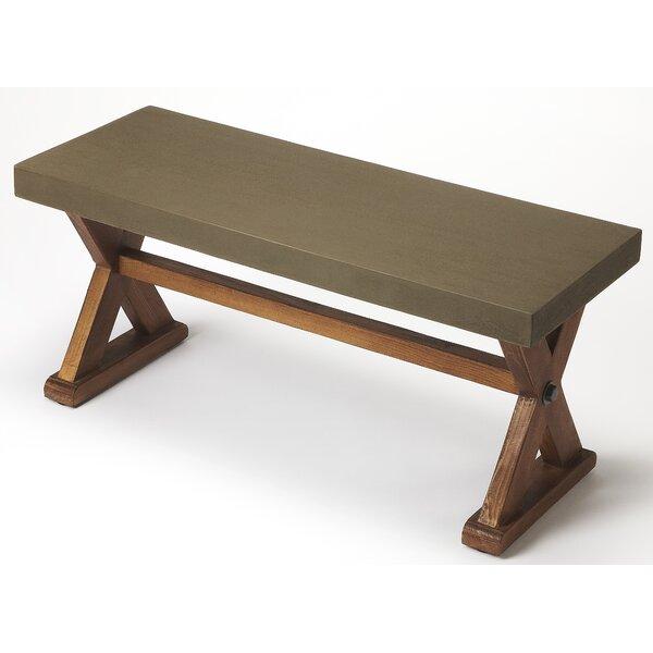 Circe Wood Bench by Loon Peak