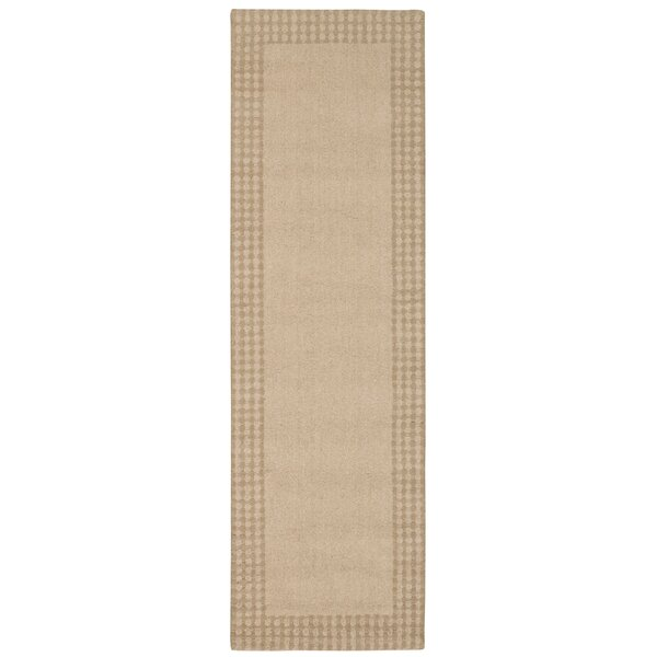 Cottage Grove Coastal Village Hand-Loomed Bisque Area Rug by Kathy Ireland Home