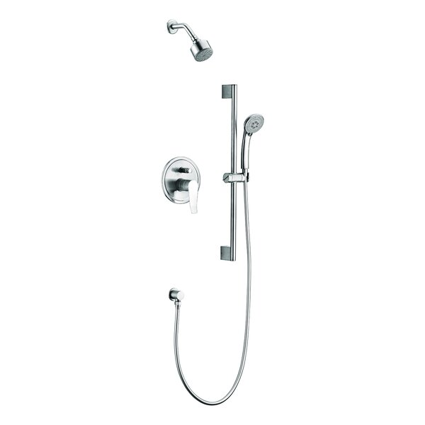Everglades Series Pressure Balanced Complete Shower System With Rough-in Valve By Dawn USA