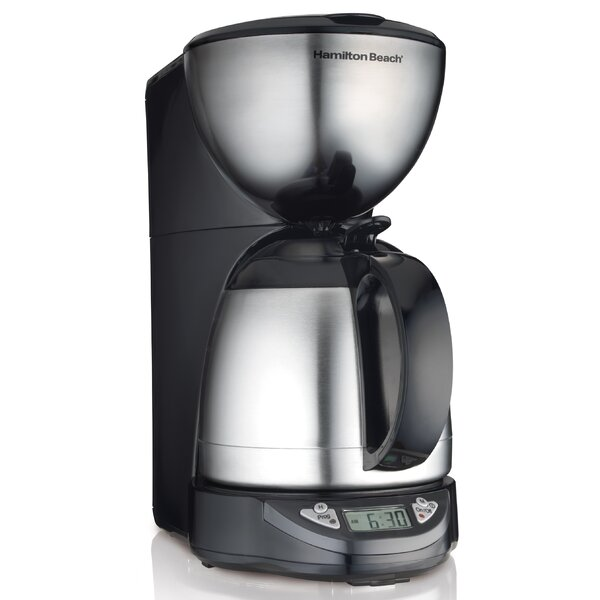 Programmable Thermal 10 Cup Coffee Maker by Hamilton Beach