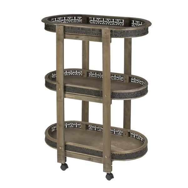 Audriana Bar Cart by Astoria Grand
