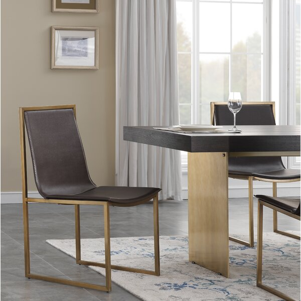 Sandisfield Upholstered Dining Chair (Set of 2) by Everly Quinn Everly Quinn
