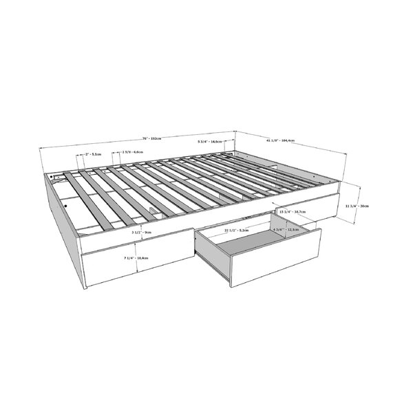 Design Ralston Storage Bed By Mack & Milo Savings