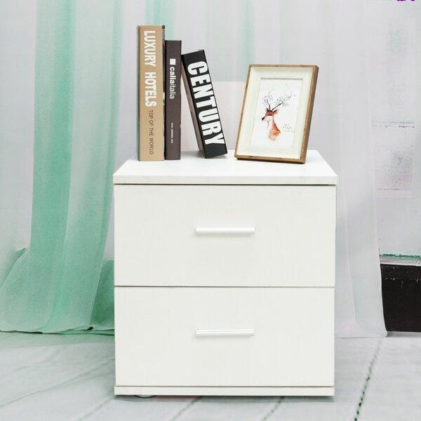 Trafecanty 2 Drawer Nightstand by Ebern Designs Ebern Designs
