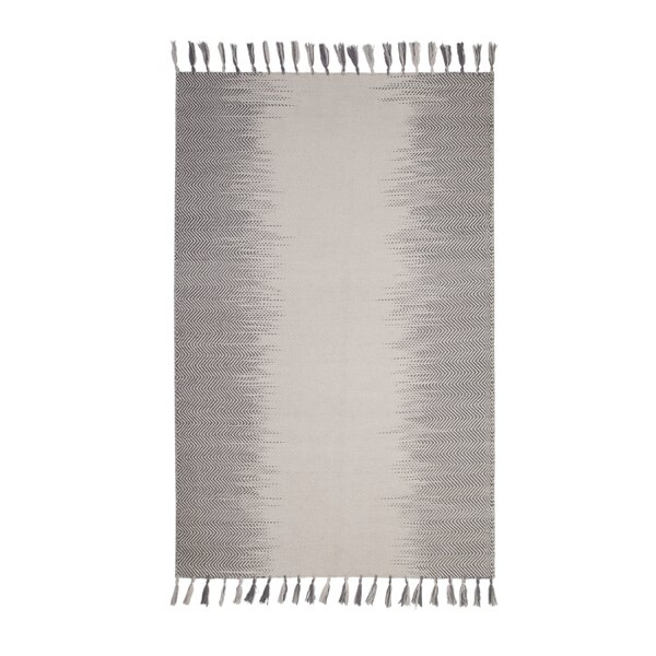 Briarden Hand-Woven Wool Blue/Ivory Indoor Area Rug by Bungalow Rose